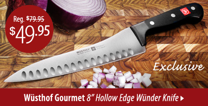 Wusthof Gourmet Hollow Edge Wunder Knife