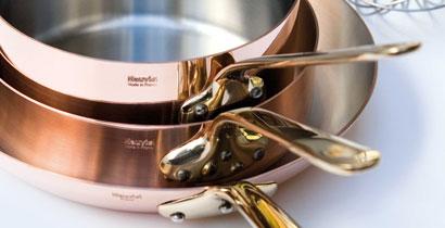 Mauviel M'heritage 150B Copper Cookware - Mauviel M'150B