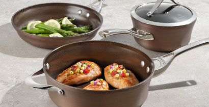 Calphalon Contemporary Nonstick Bronze Anodized Cookware
