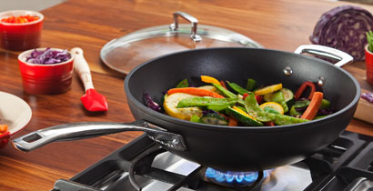 Le Creuset Forged Hard Anodized Cookware