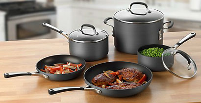 Simply Calphalon Hard-Anodized Cookware