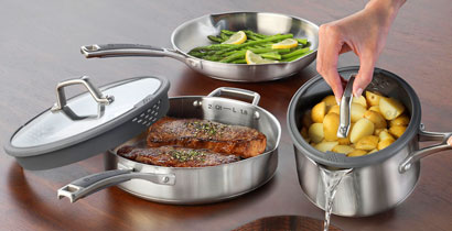 Calphalon Easy System Stainless Steel Cookware