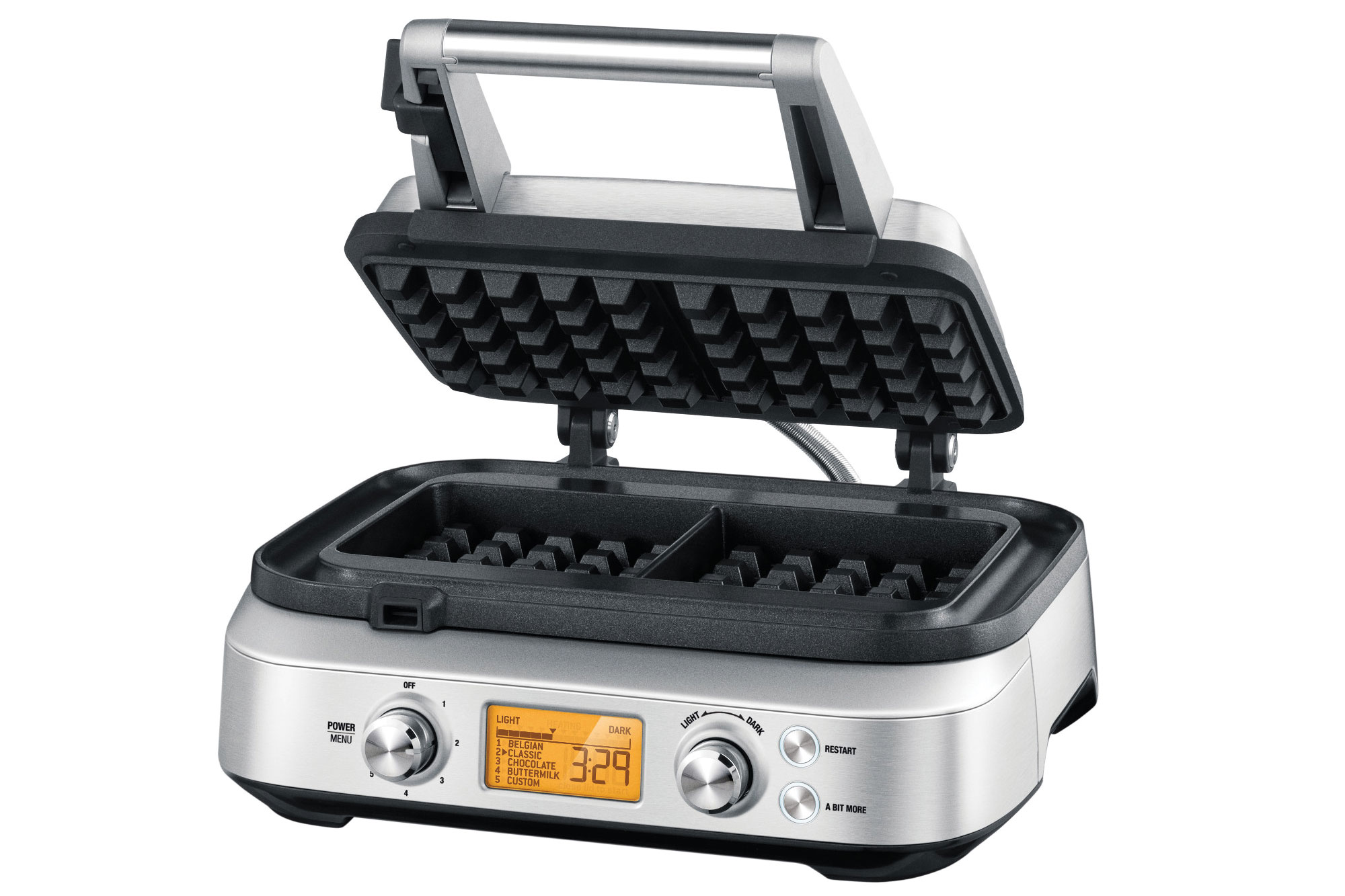 Breville Smart Waffle Maker 2 Slice Cutlery And More