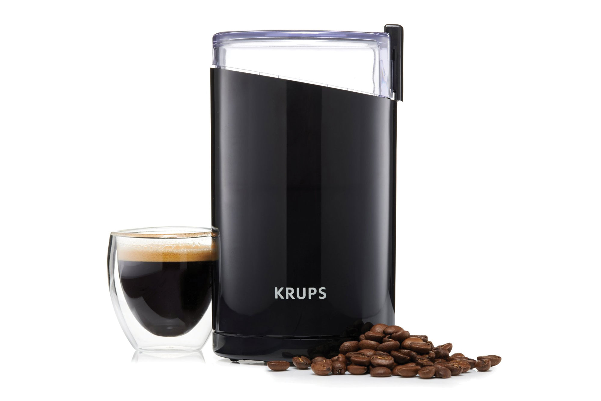 Electric Spice Grinder ~ Krups electric coffee spice grinder black cutlery and