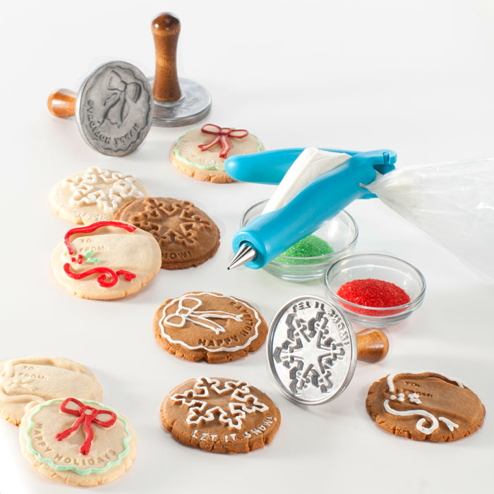Nordicware Holiday Cookie Stamps Set Cutlery And More