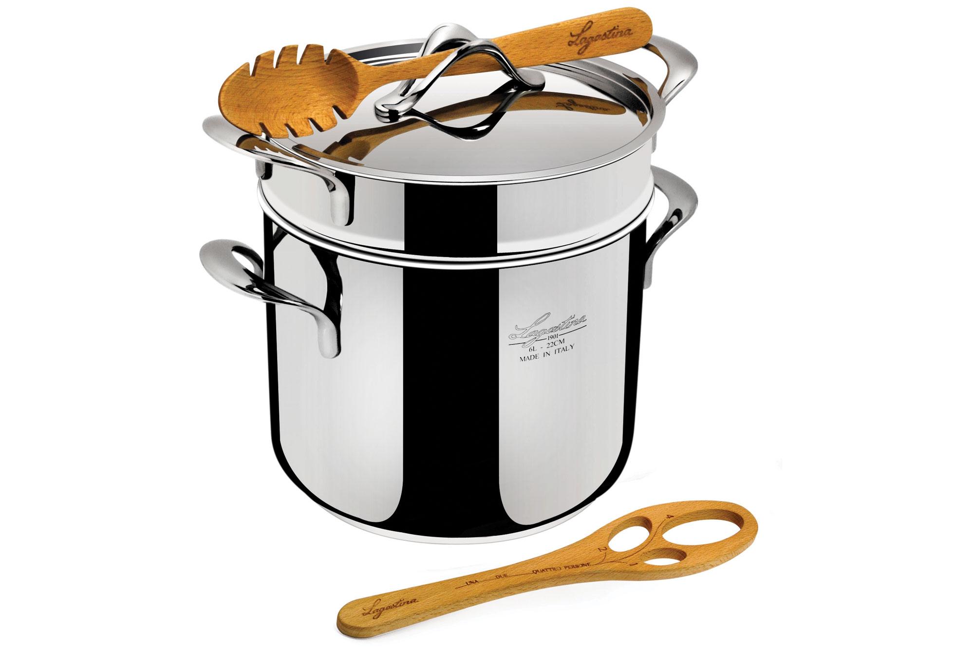 Lagostina Pastaiola Pot 6 Quart Cutlery And More