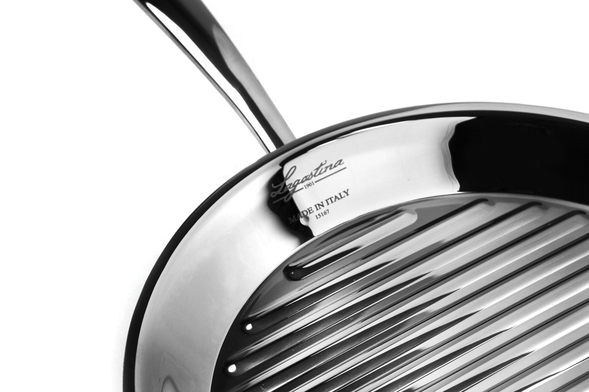 Lagostina Round Stainless Steel Grill Pan 11 Inch