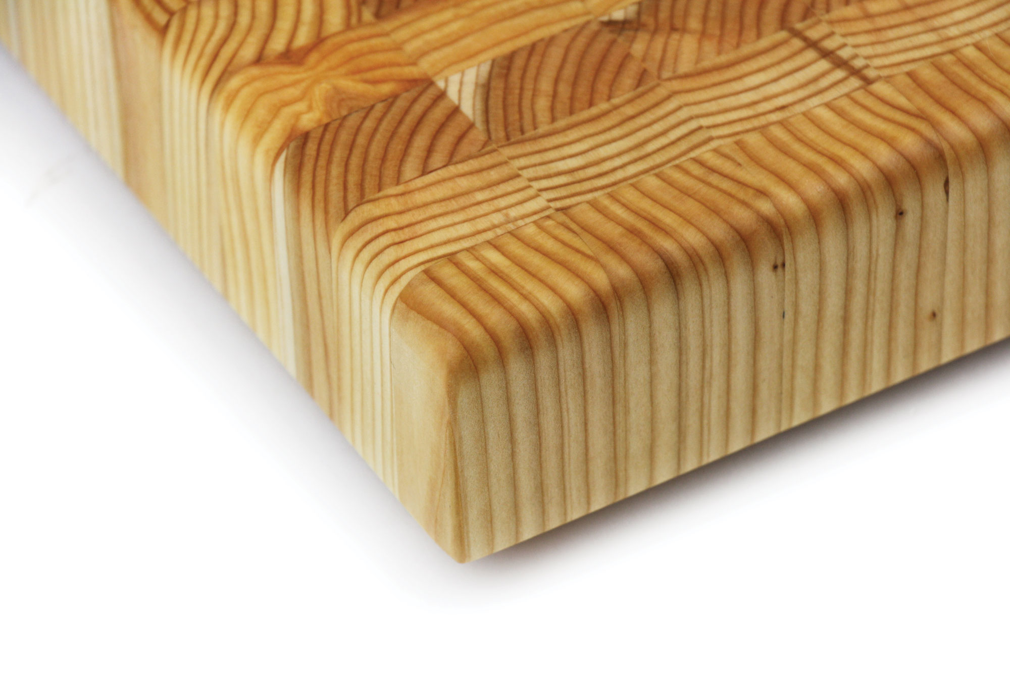 Larch Wood Cutting Board Large 24x18x2 Inch Cutlery And More