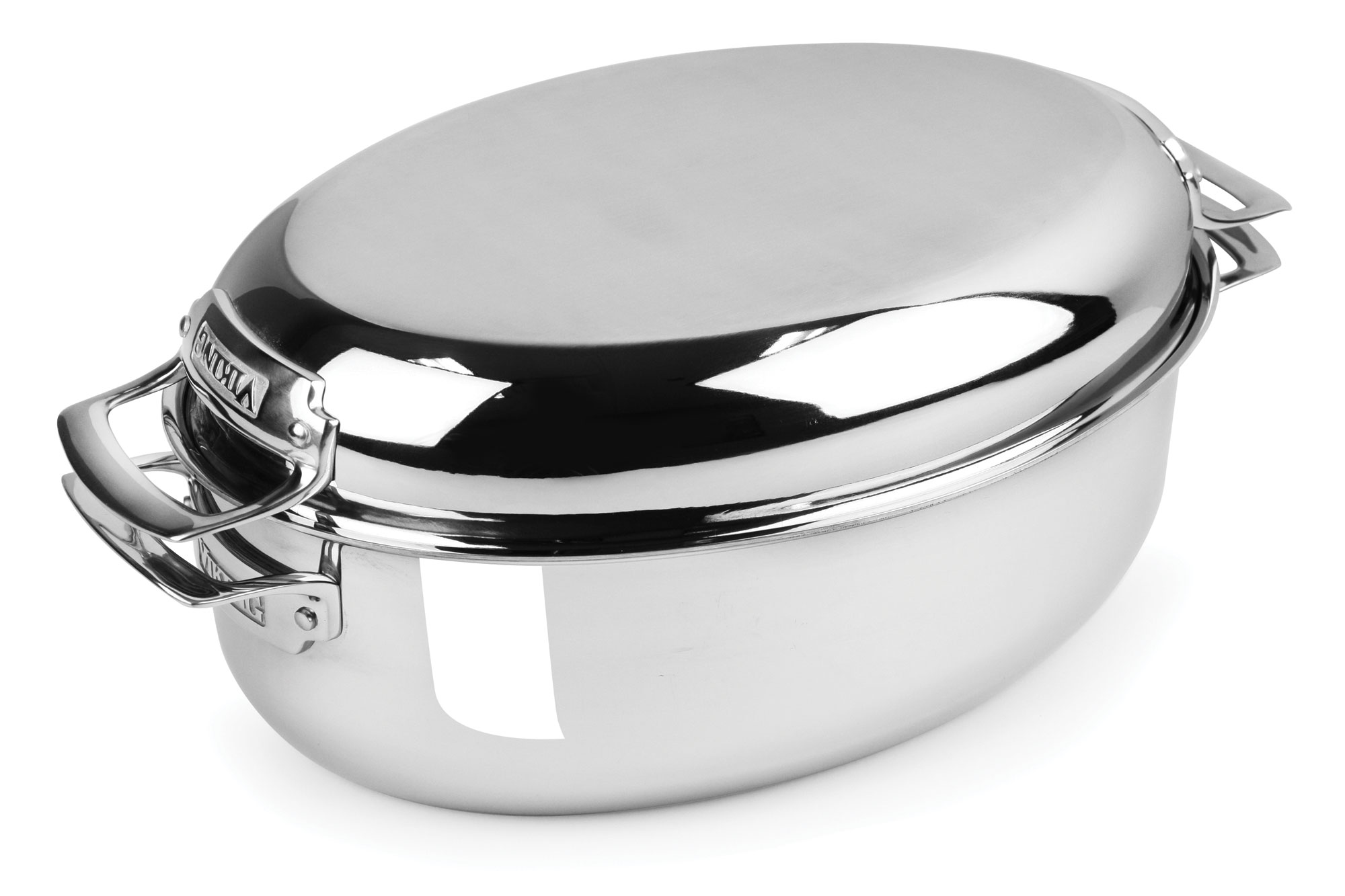 Viking Tri Ply Oval Multi Roaster With Induction Lid