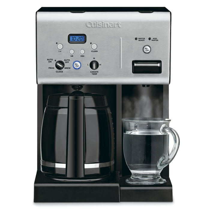 Cuisinart Coffee Maker Matte Black : Cuisinart Programmable Coffeemaker with Instant Hotwater Dispenser, 12-cup Cutlery and More