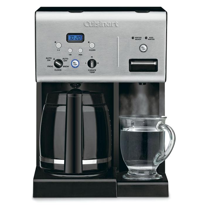Cuisinart Programmable Coffeemaker With Instant Hotwater