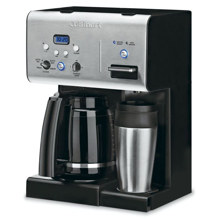 Cuisinart Coffee Maker Hot Water Dispenser : Cuisinart Programmable Coffeemaker with Instant Hotwater Dispenser, 12-cup Cutlery and More