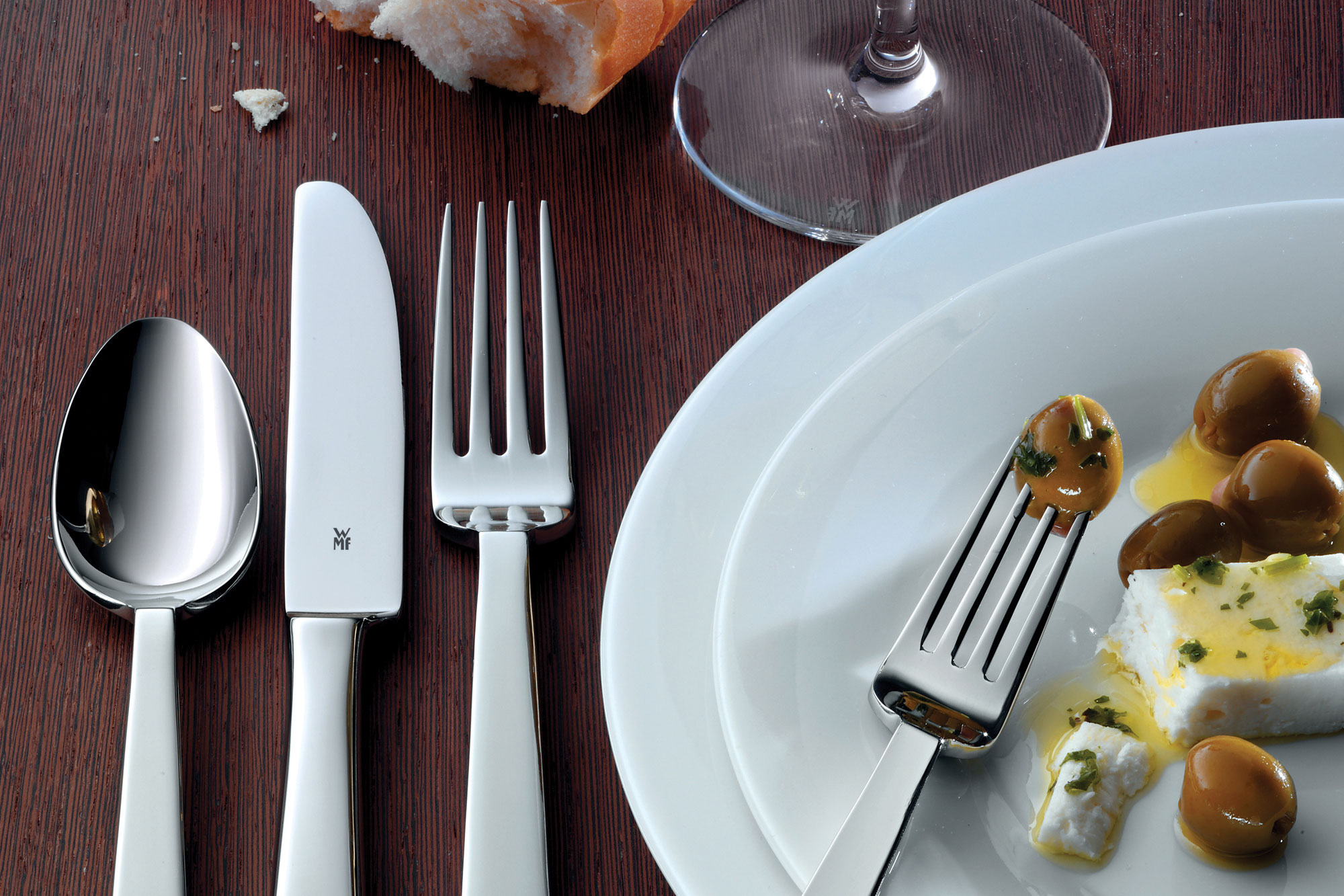 WMF Royal Stainless Steel Flatware Set, 40-piece | Cutlery and More