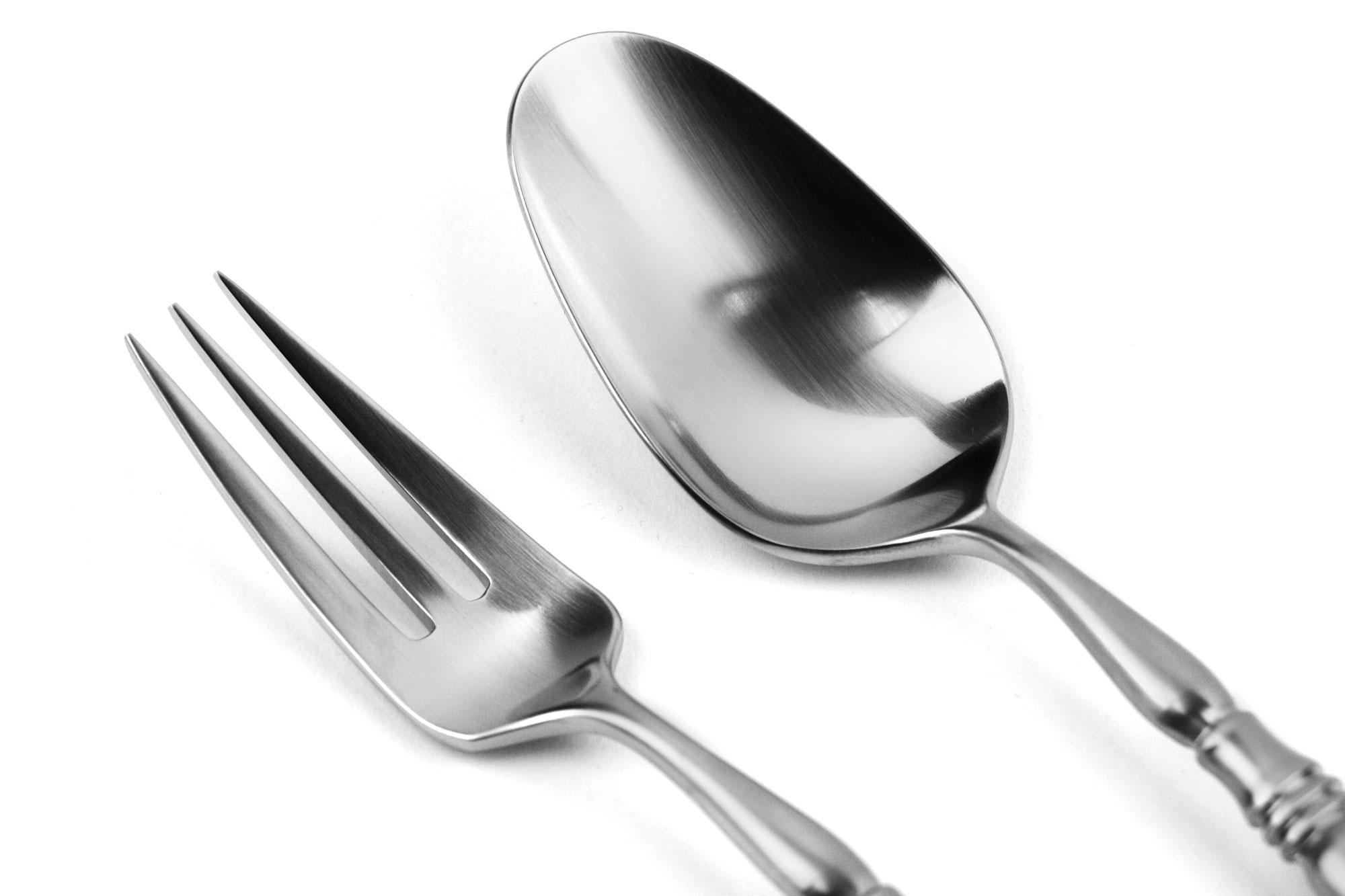 Yamazaki old denmark stainless steel flatware set 40 piece cutlery and more - Yamazaki stainless steel flatware ...