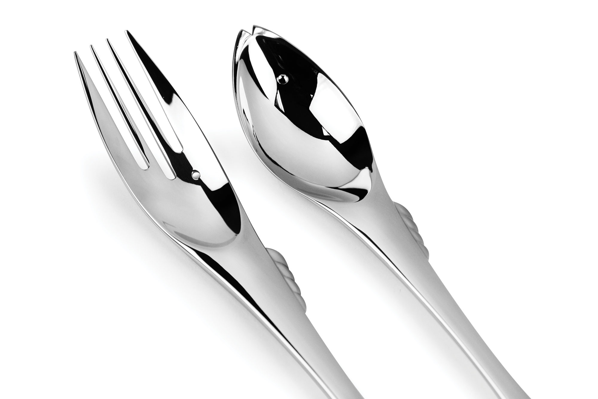 Yamazaki gone fishin 39 stainless steel flatware set 40 piece cutlery and more - Gone fishin flatware ...