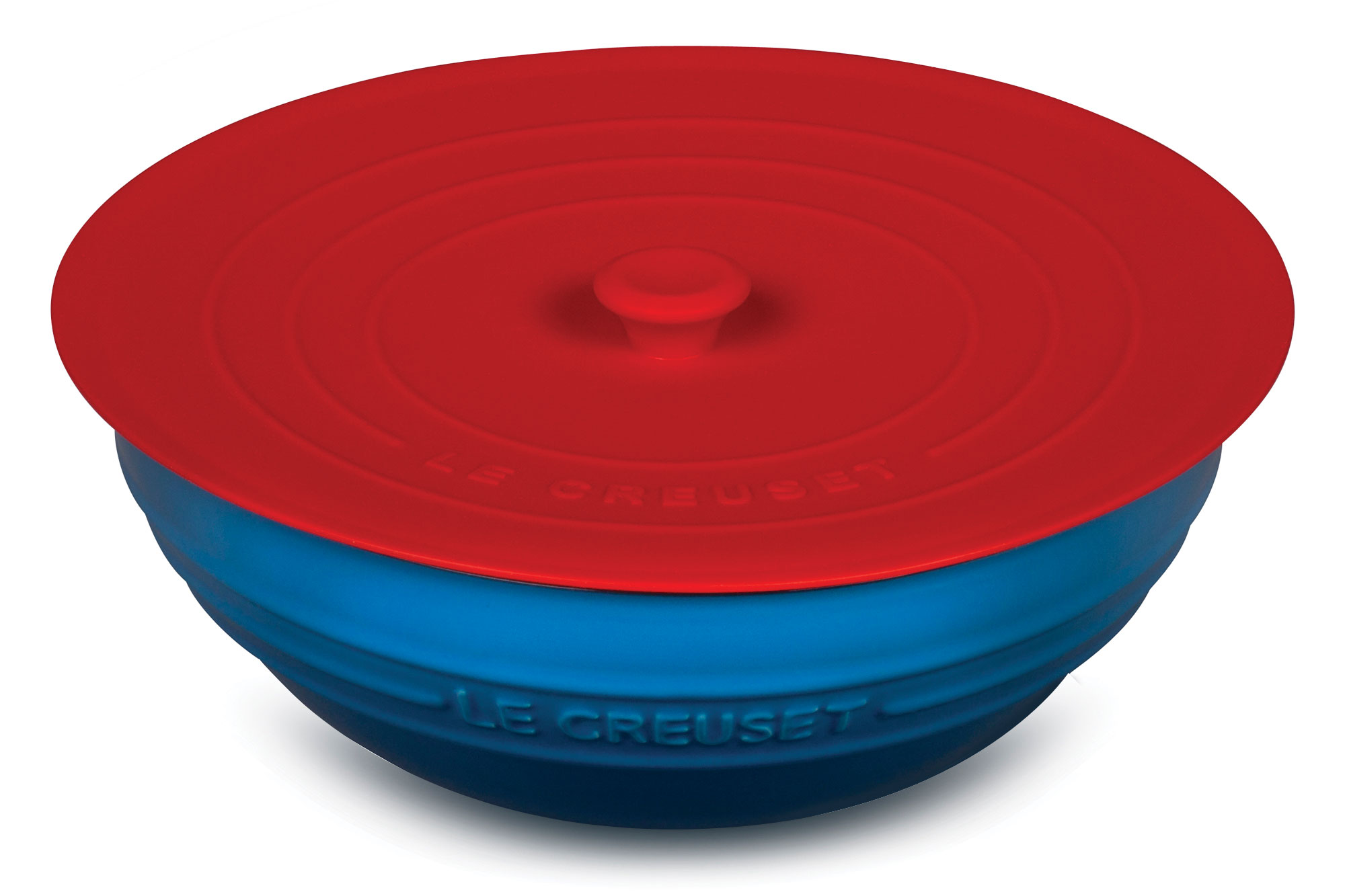 Le Creuset Cherry Red Silicone Lid 8 Inch Cutlery And More