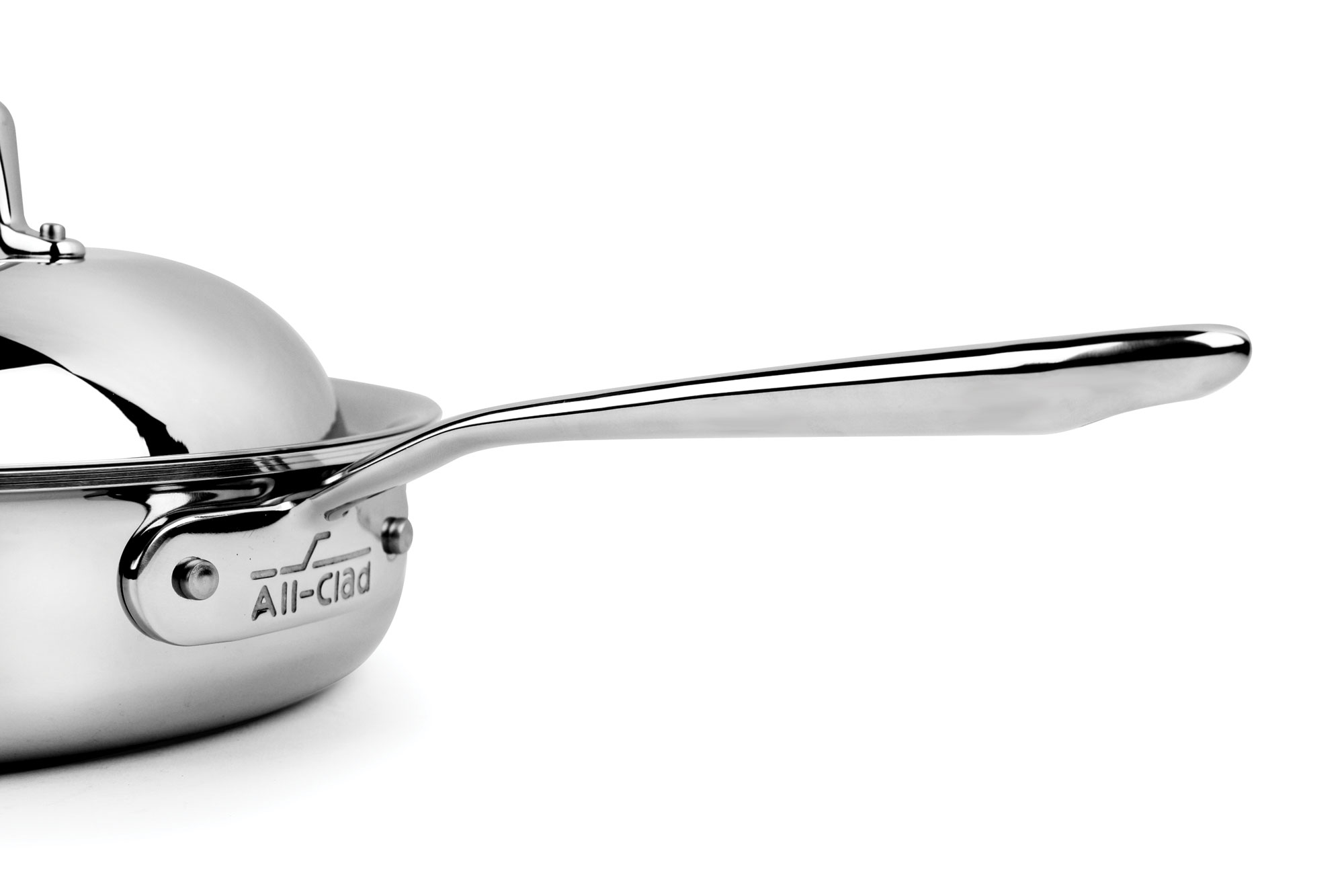 All Clad D7 Stainless Steel Saute Pan With Domed Lid 3