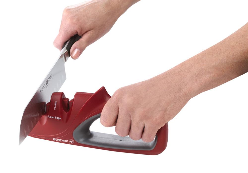 Wusthof Hand Held Asian Knife Sharpener 2 Stage Cutlery