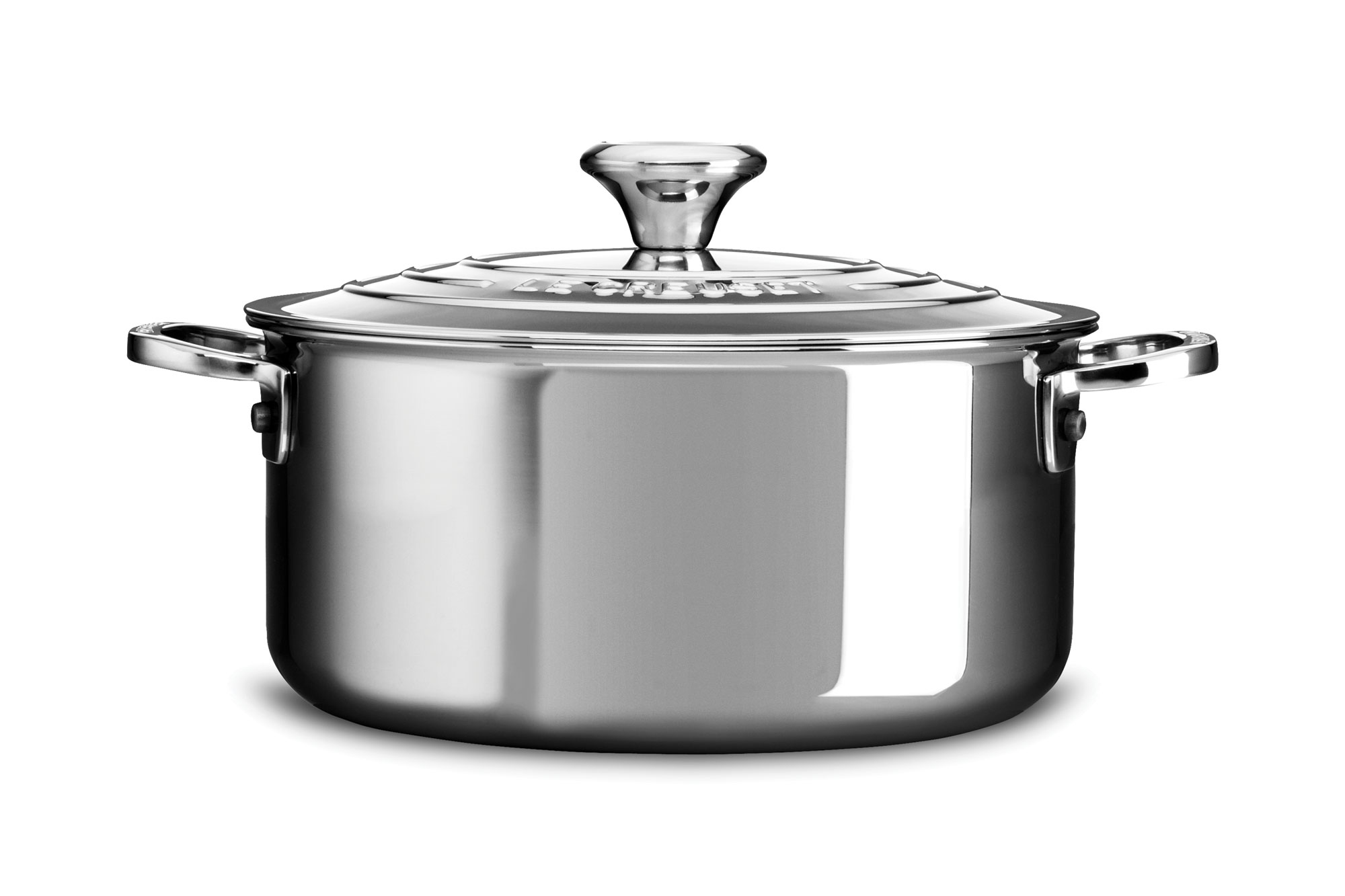 Le Creuset Stainless Steel Dutch Oven 3 Quart Cutlery