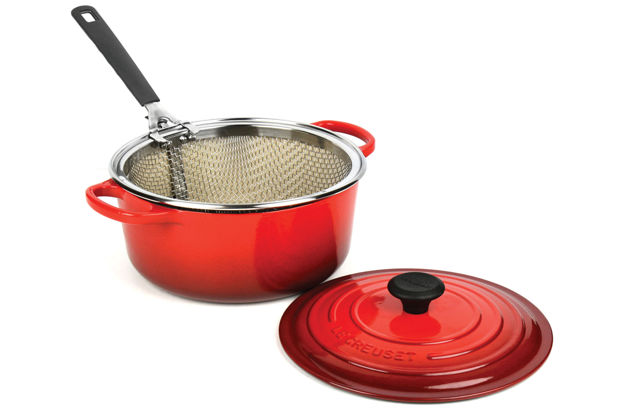 Le Creuset Signature Cast Iron Round Dutch Oven With Bonus