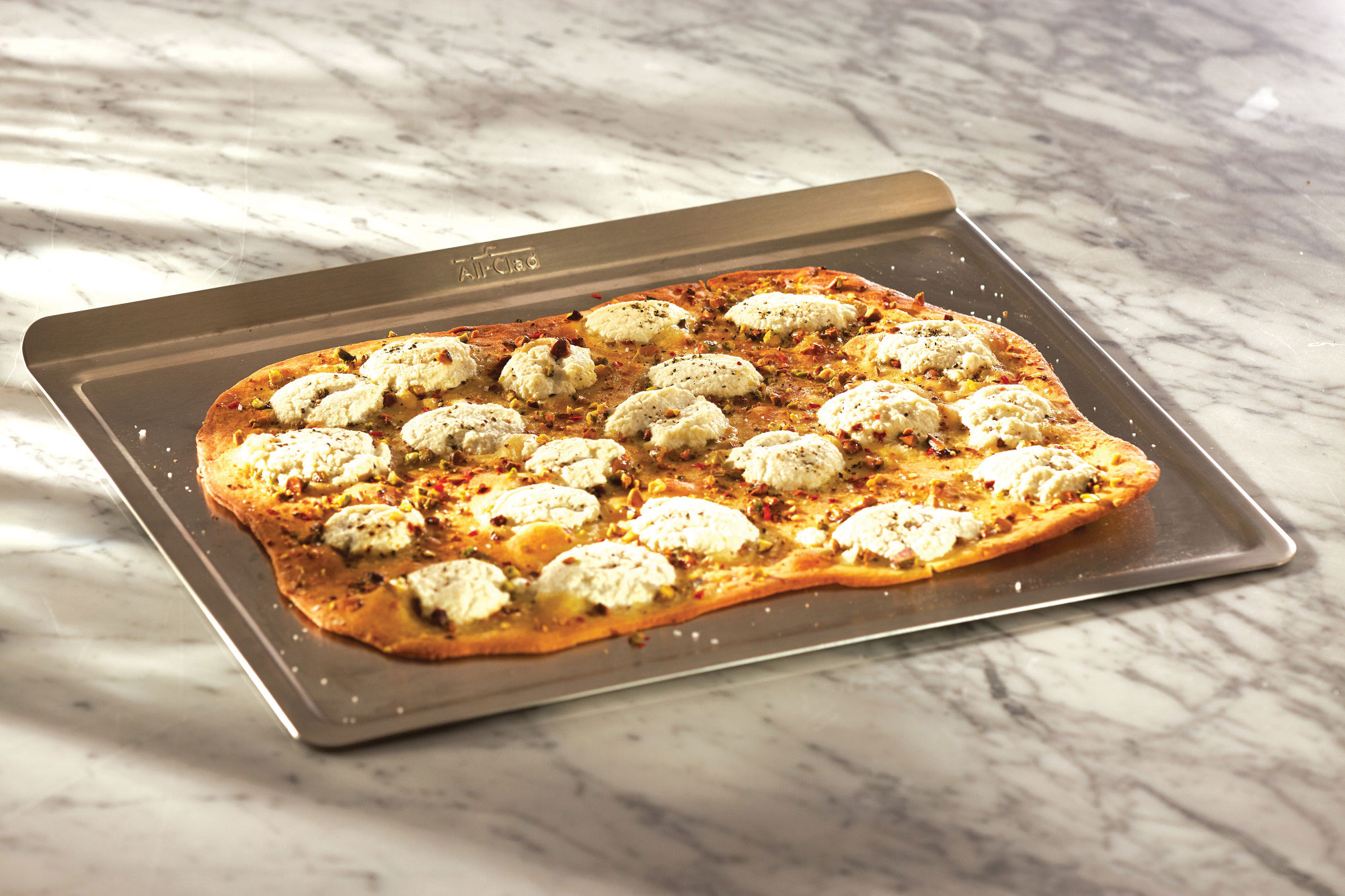 All Clad Stainless Tri Ply Stainless Steel Baking Sheet