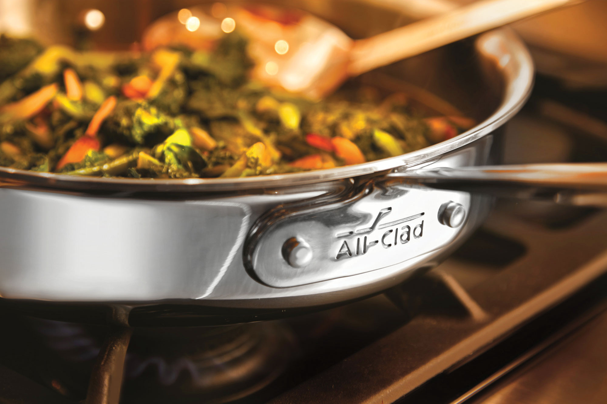All Clad D3 Stainless Saute Pan 5 Quart Cutlery And More