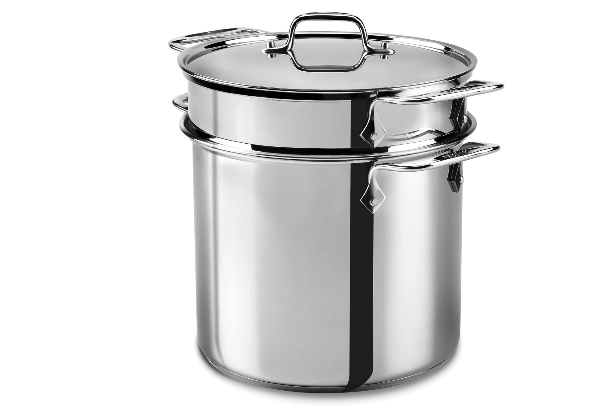 All Clad Stainless Steel Multi Function Stock Pot 8 Quart