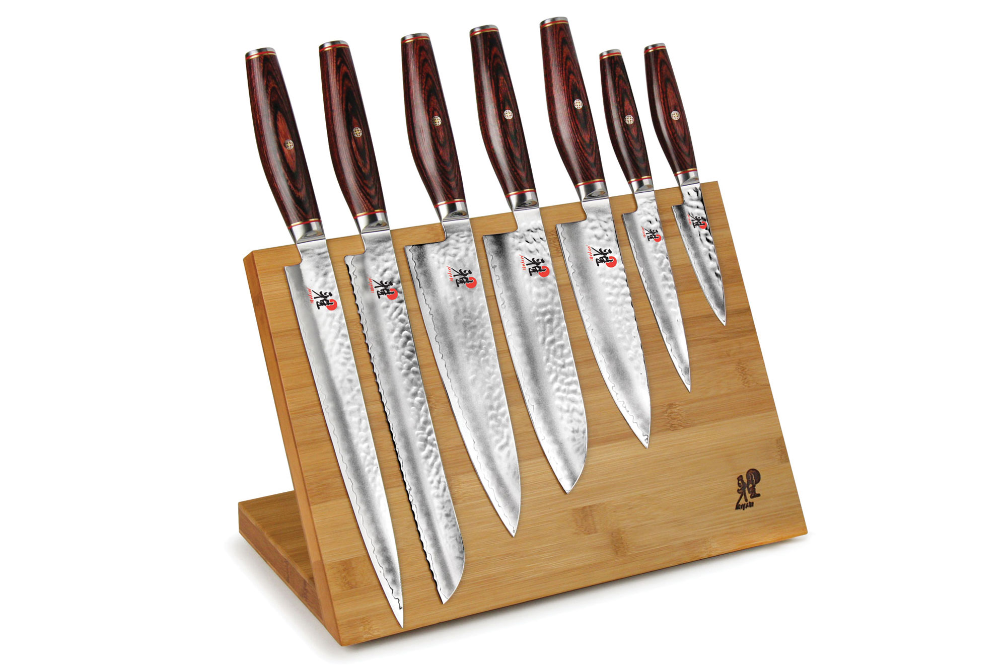 Miyabi Bamboo Magnetic Knife Stand Cutlery And More