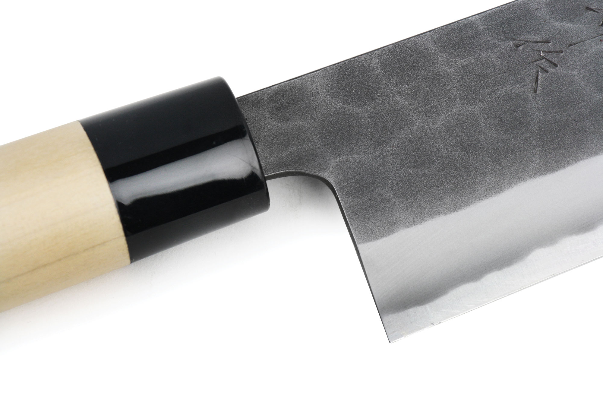 Tojiro Hammered Black Carbon Steel Chef\'s Knife, 9.5-inch | Cutlery ...