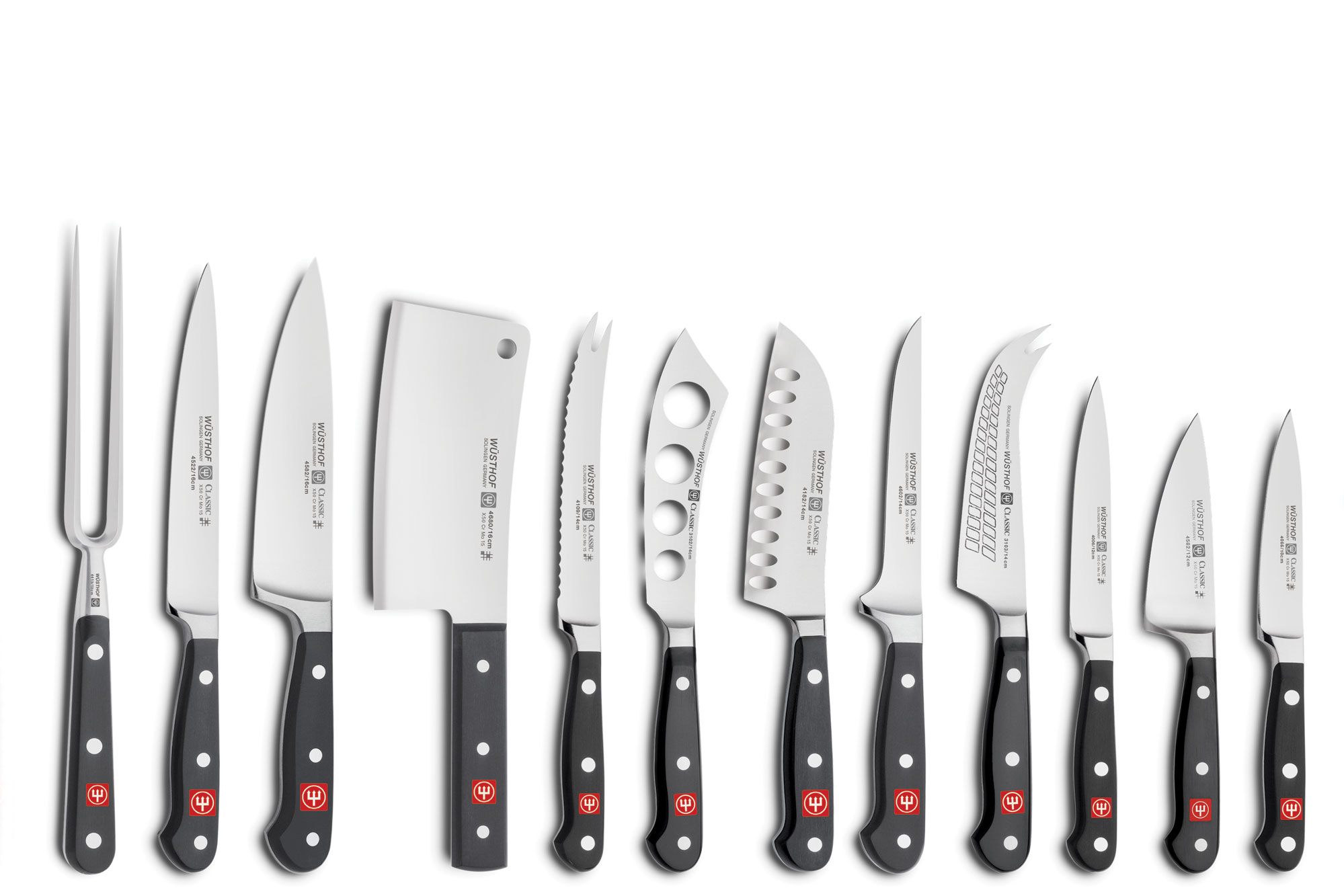 Wusthof Classic Knife Block Set 36 Piece Cutlery And More