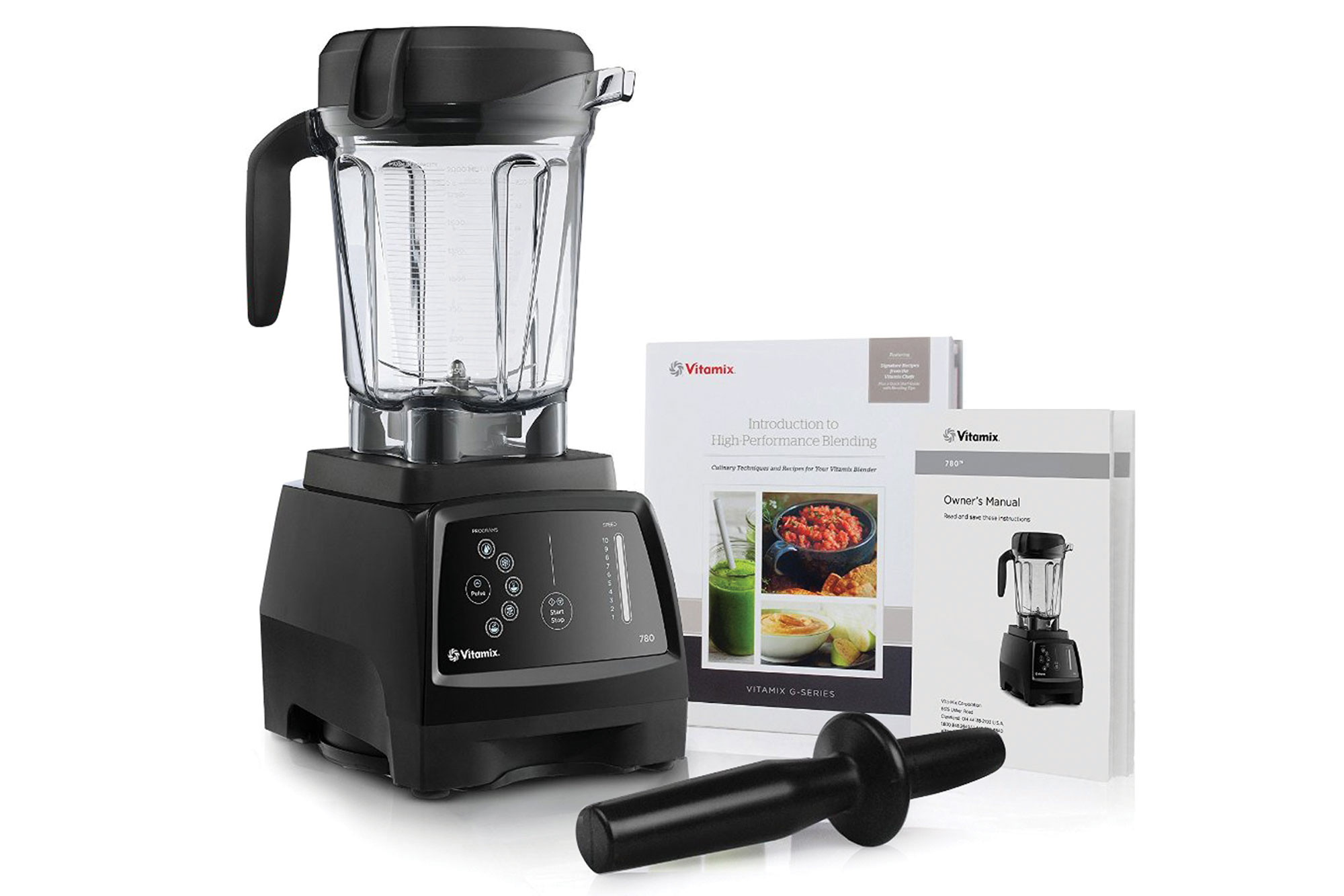 Vitamix 780 Blender With Touchscreen Control Cutlery And