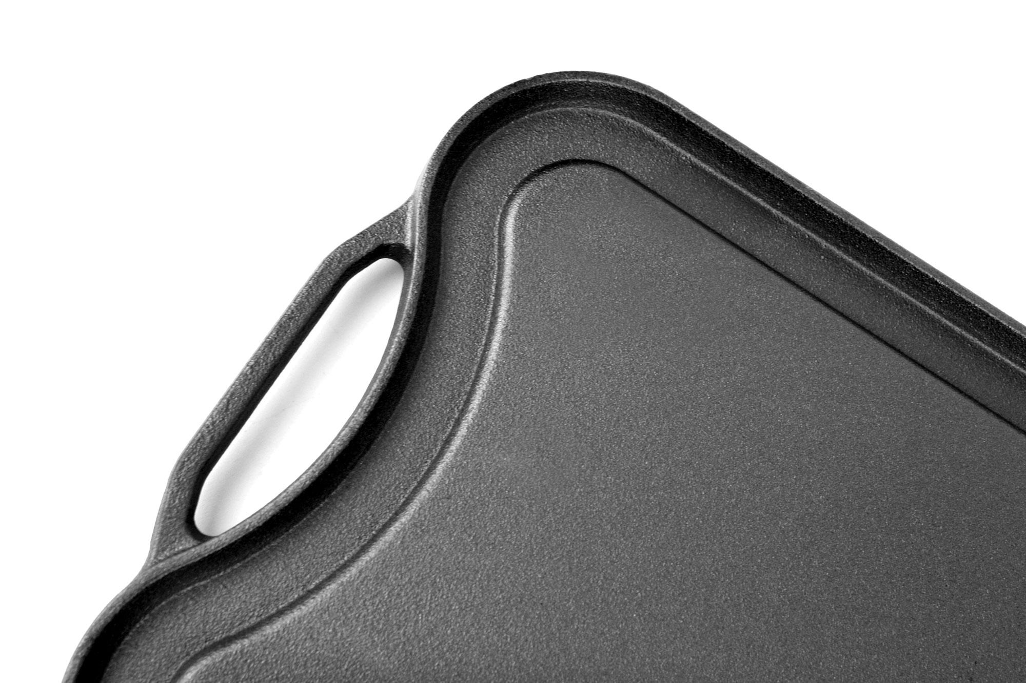 viking cast iron reversible griddle grill pan 20 inch. Black Bedroom Furniture Sets. Home Design Ideas