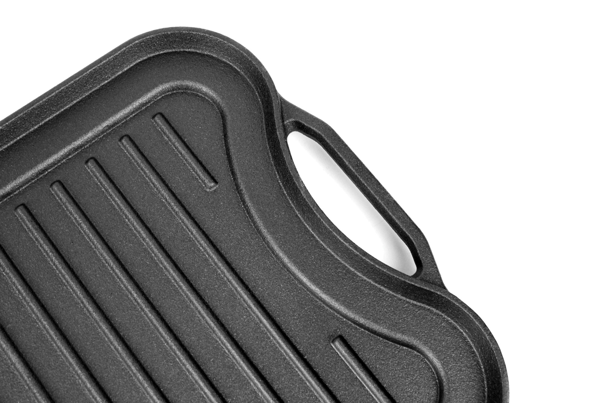 Crofton cast iron reversible griddle grill