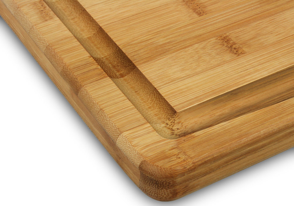 Cutlery And More Bamboo Carving Board With Gravy Well