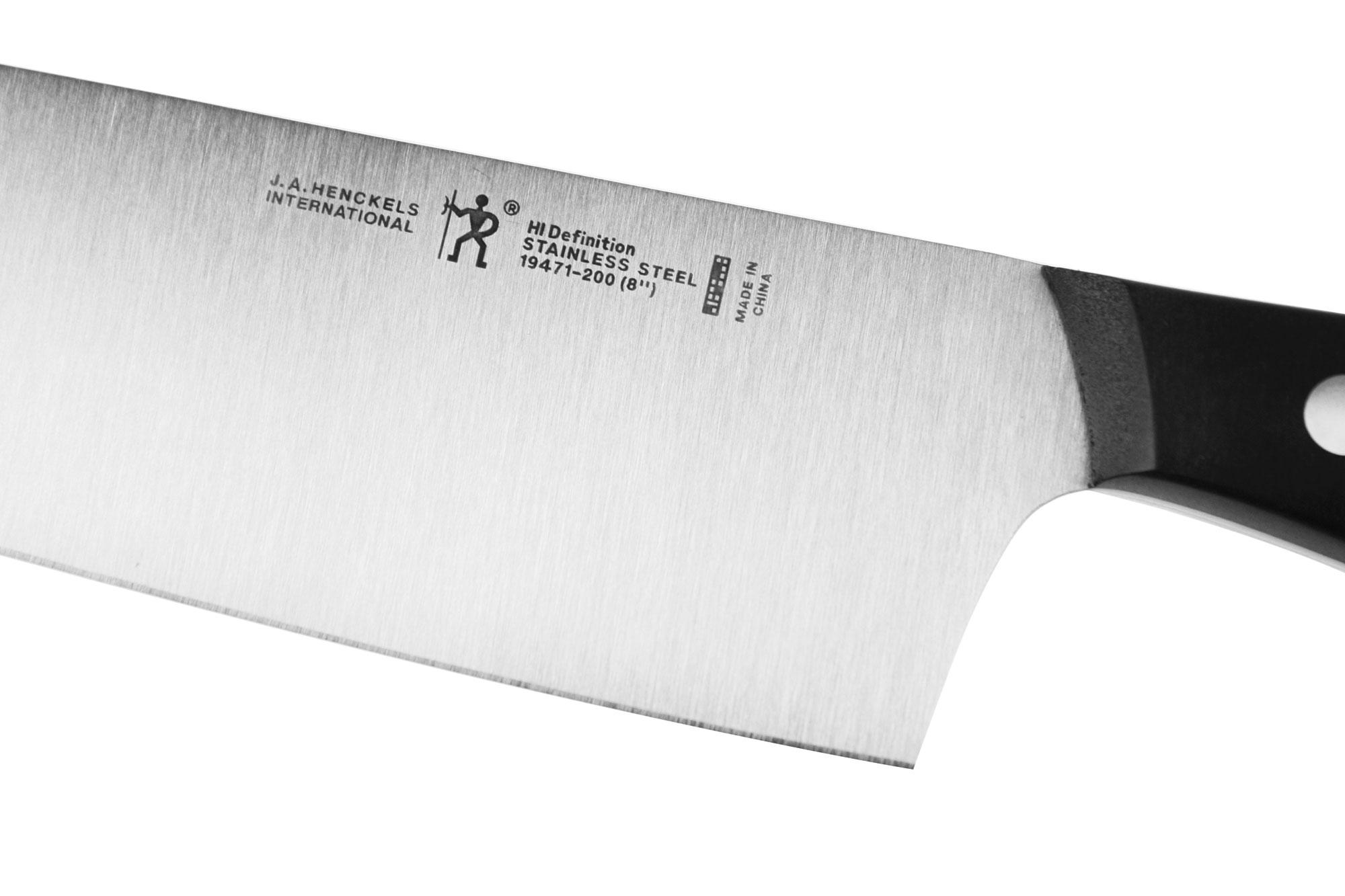 henckels international definition 9 piece knife block set cutlery and more. Black Bedroom Furniture Sets. Home Design Ideas