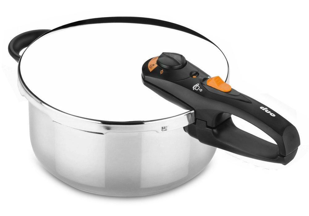 Fagor Duo Stainless Steel Pressure Cooker 4 Quart Cutlery And More