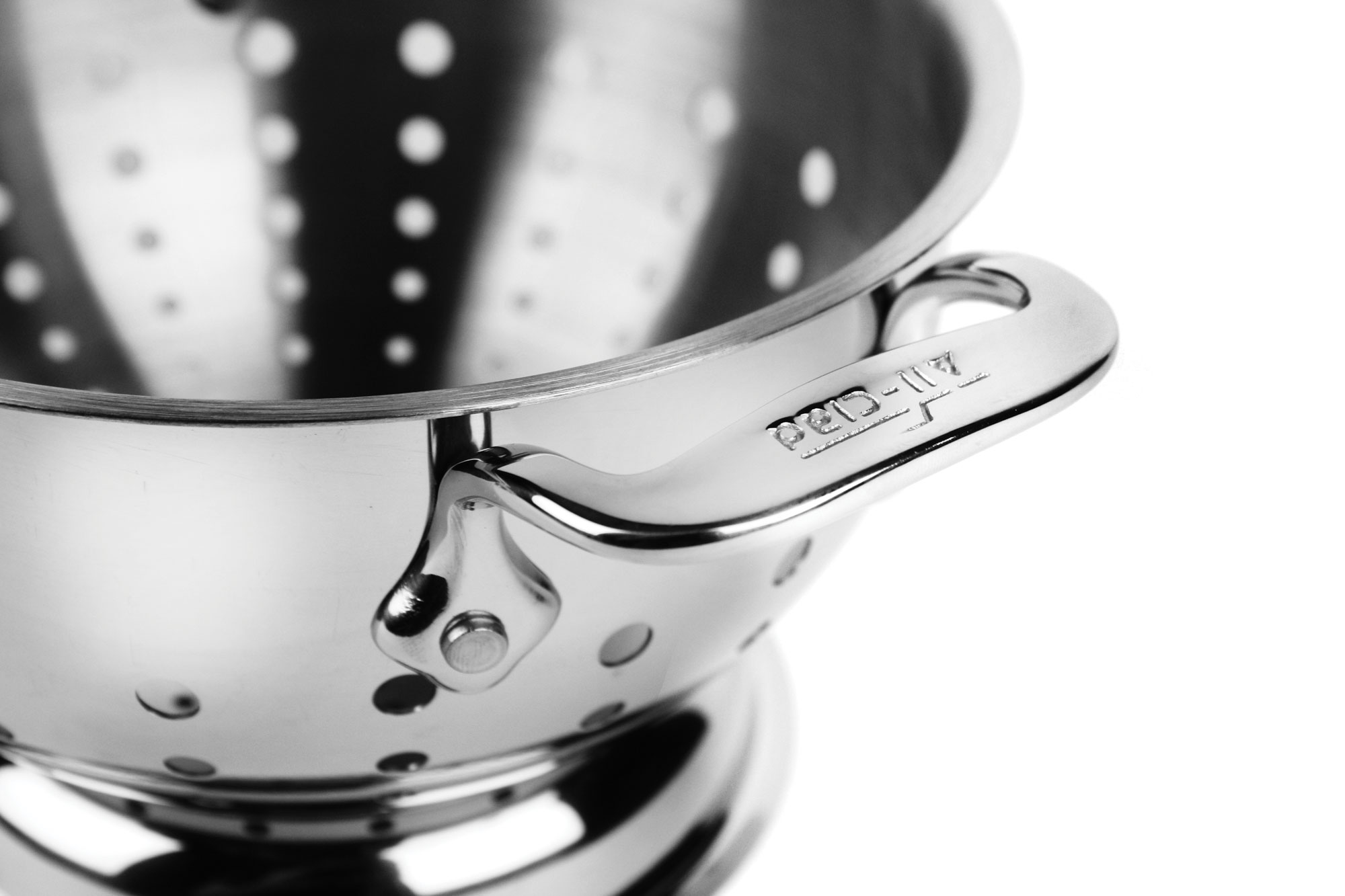 All Clad Stainless Steel Colander 1 5 Quart Cutlery And