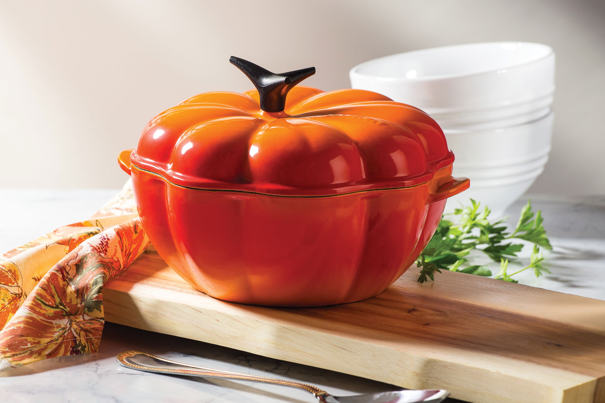 Le Creuset Pumpkin Ovens On Sale Cutlery And More
