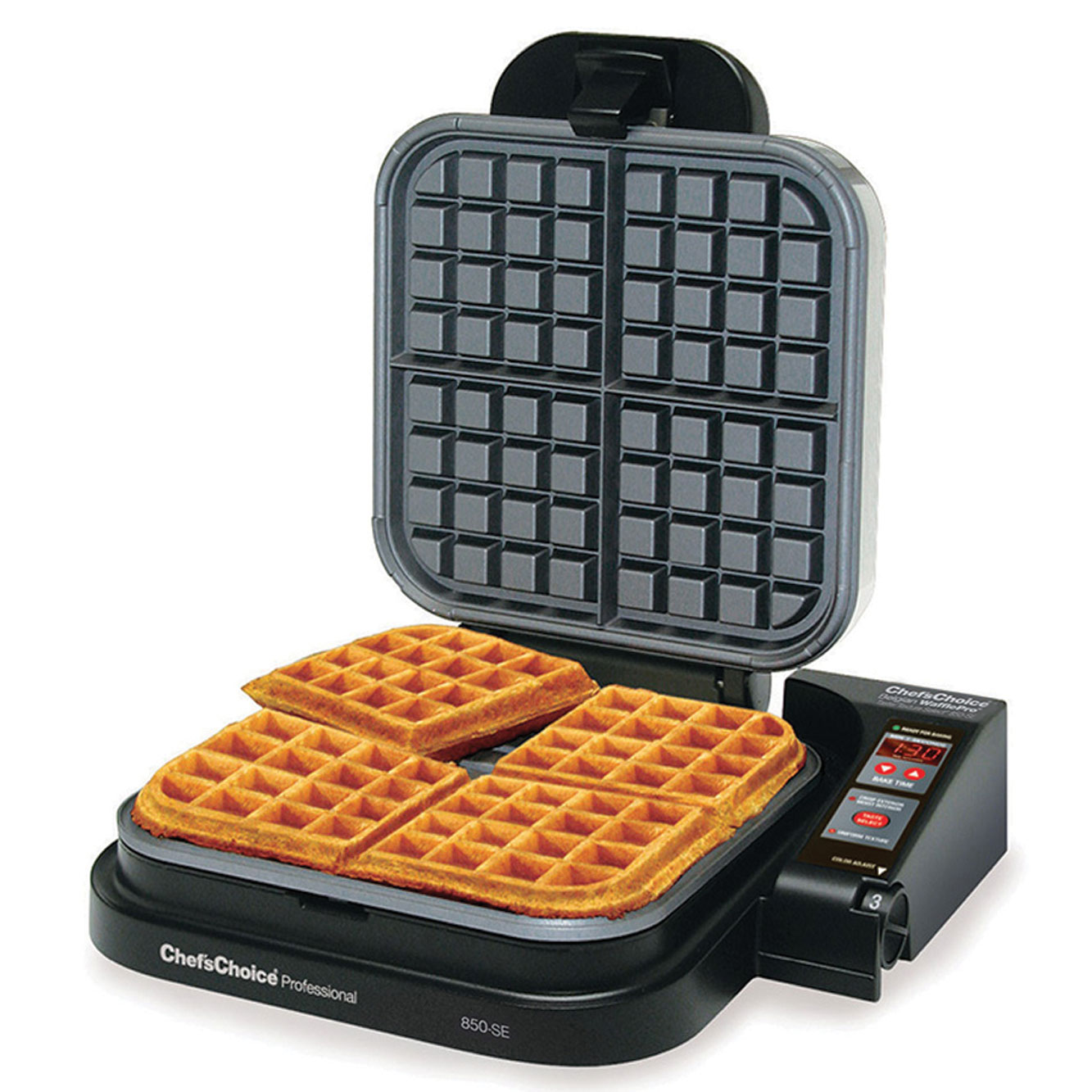 Chef's Choice Model 850-SE WafflePro Taste-Texture Belgian ...