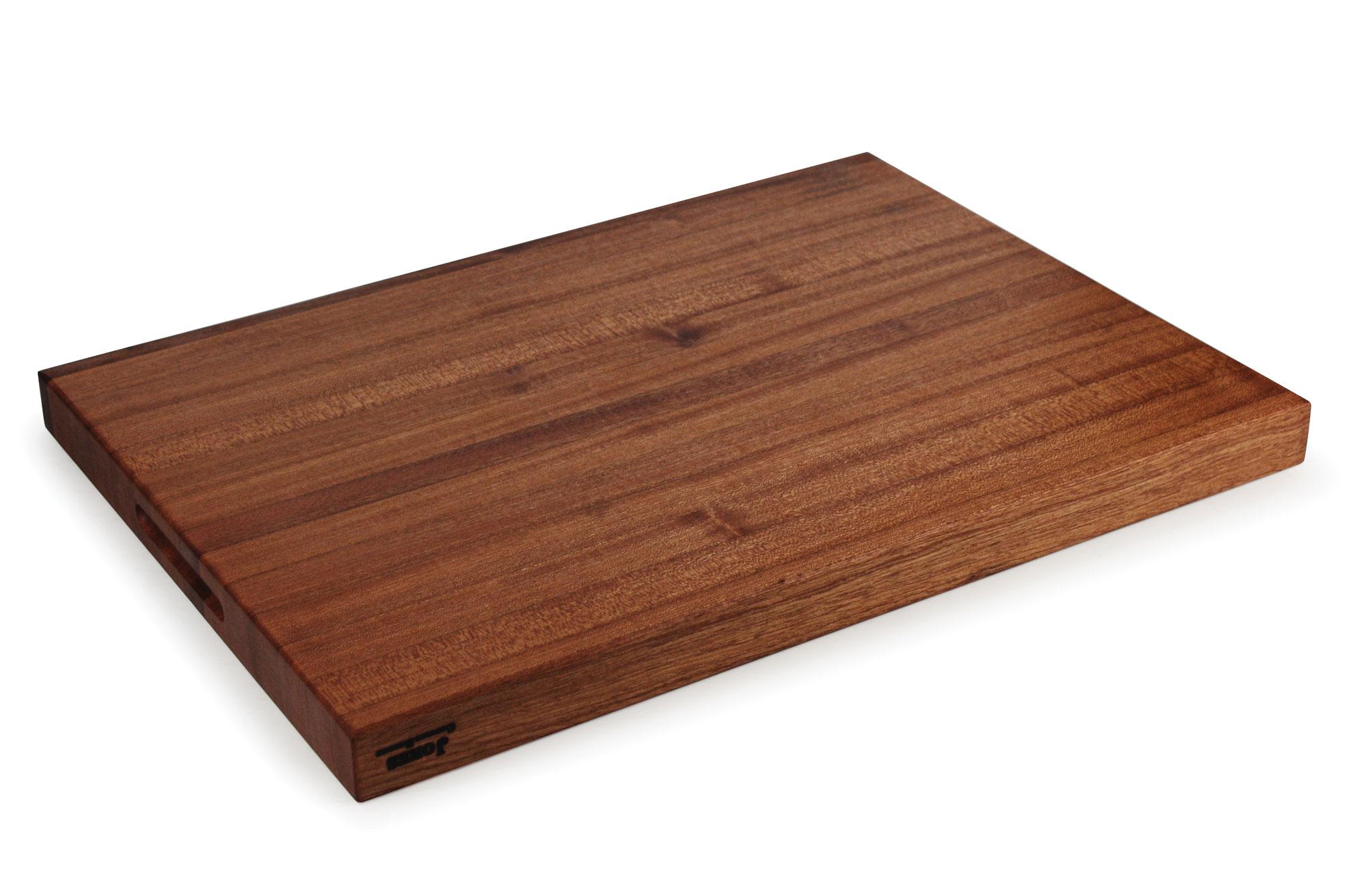 Jones Sapele Edge Grain Cutting Board 22x16x1 5