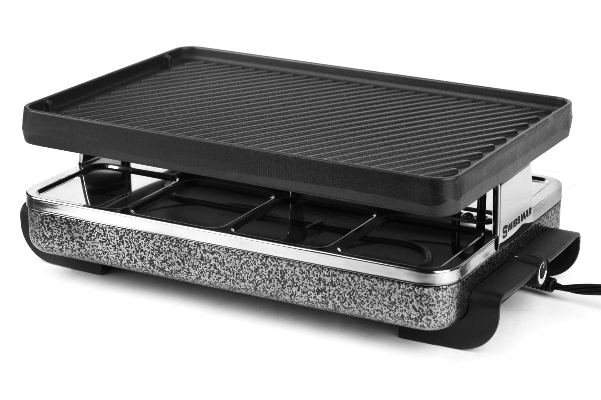 Swissmar Eiger Raclette Grill With Reversible Cast Iron