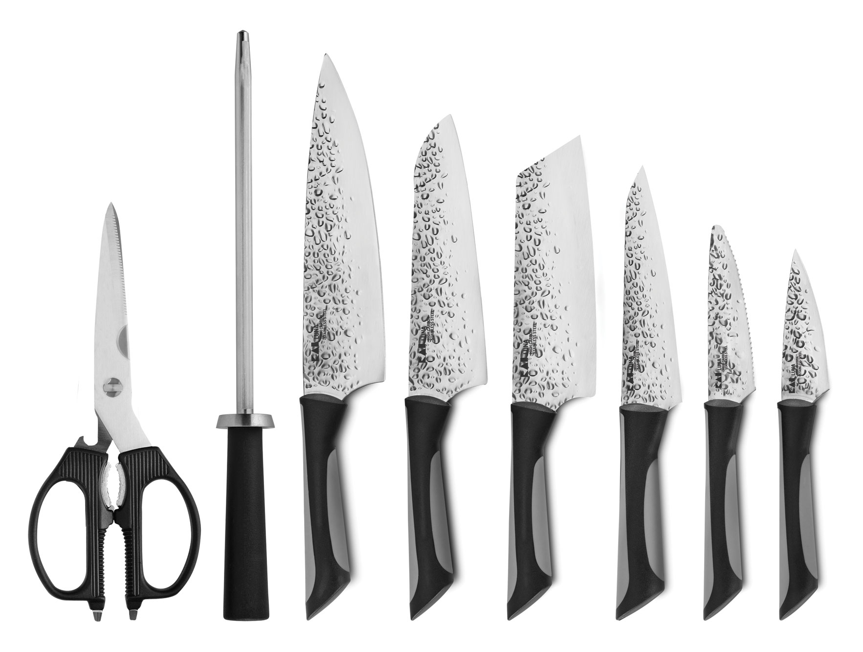Kai Luna Knife Block Set 9 Piece Cutlery And More