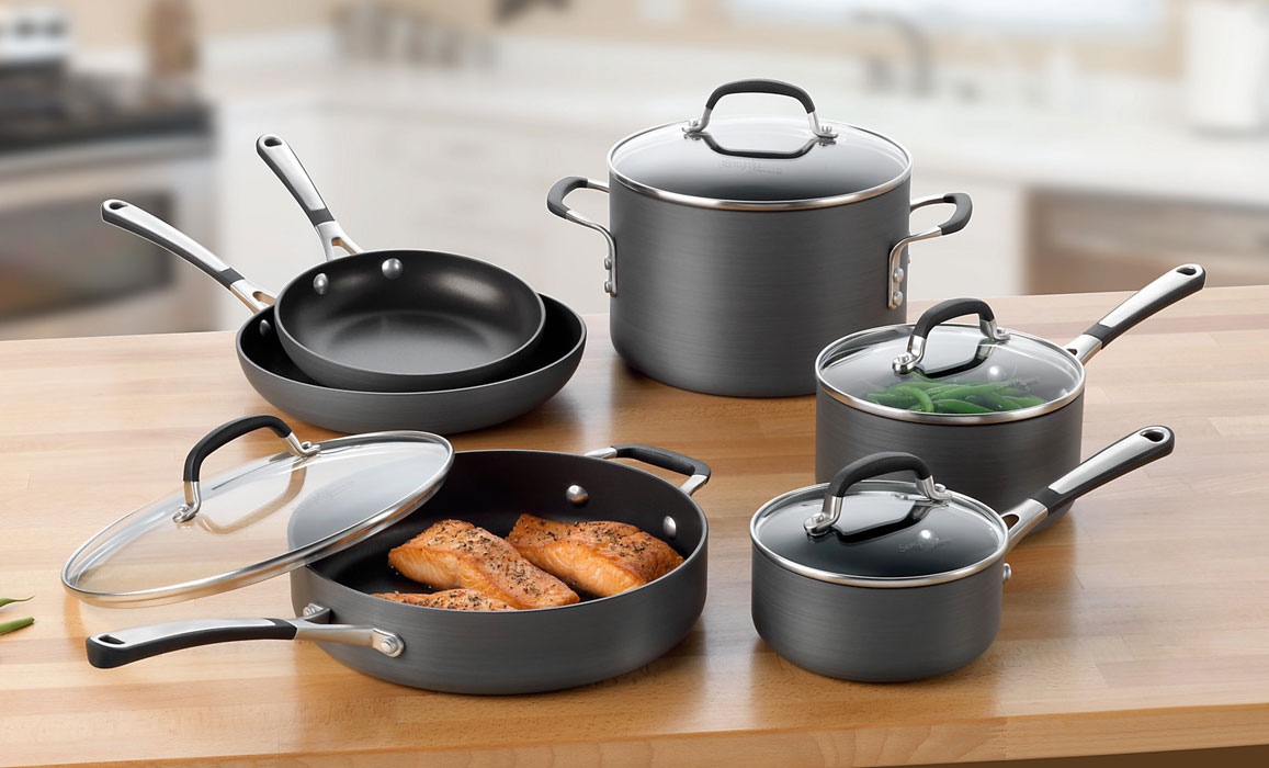 Calphalon Simply Nonstick Premier Cookware Set 10 Piece
