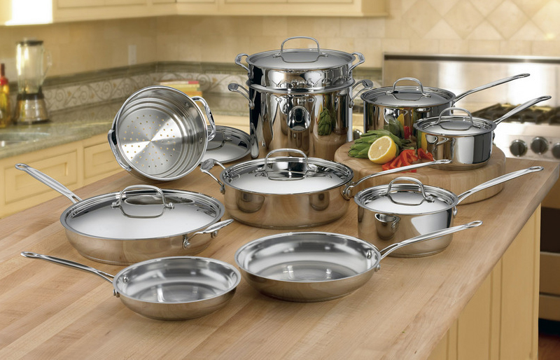 Cuisinart Chef S Classic Stainless Steel Ultimate Cookware