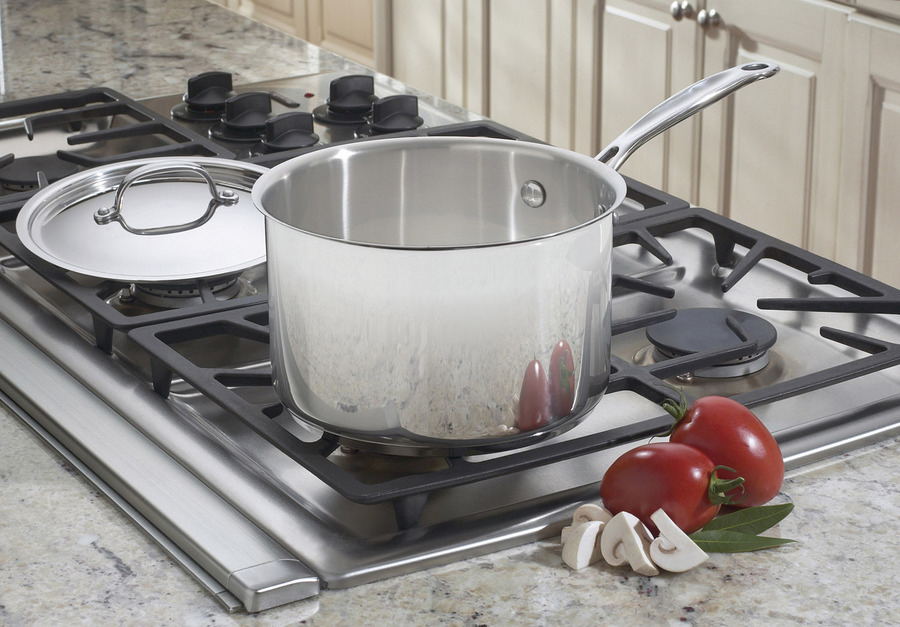 Cuisinart Chef S Classic Stainless Steel Saucepan 4 Quart
