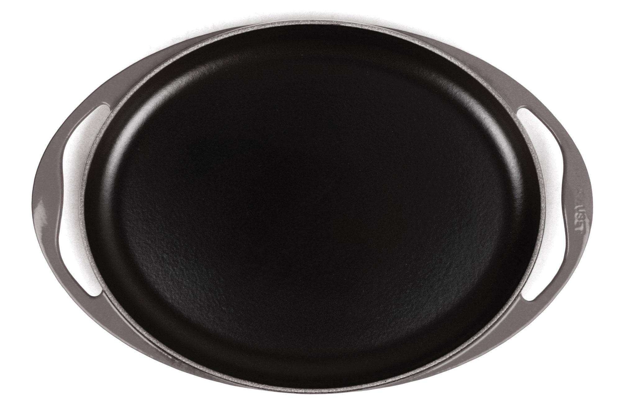 Le Creuset Cast Iron Sizzle Platter Oval Griddle 12
