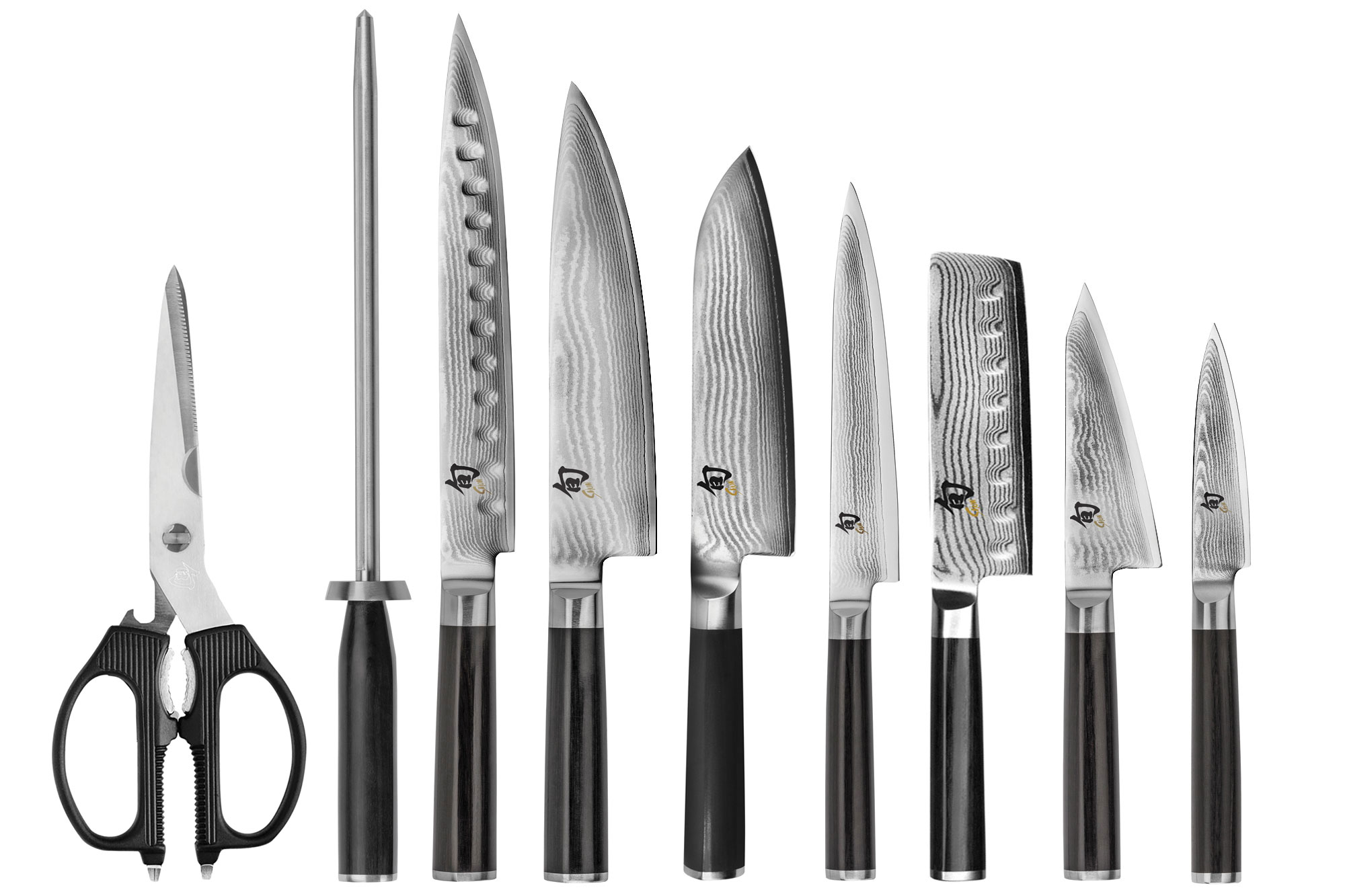 Shun Classic Knife Set 10 Piece Block Japanese Chef