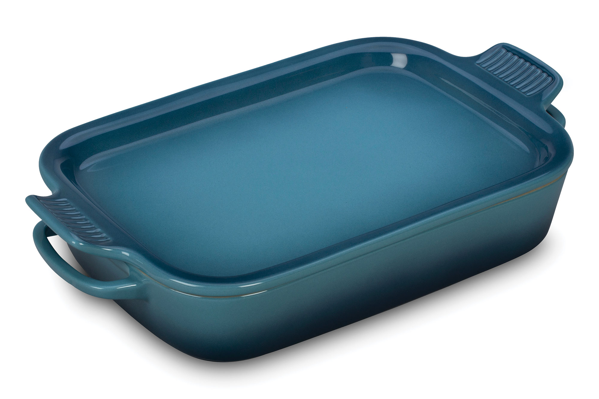 Le Creuset Stoneware Rectangular Baking Dish With Platter