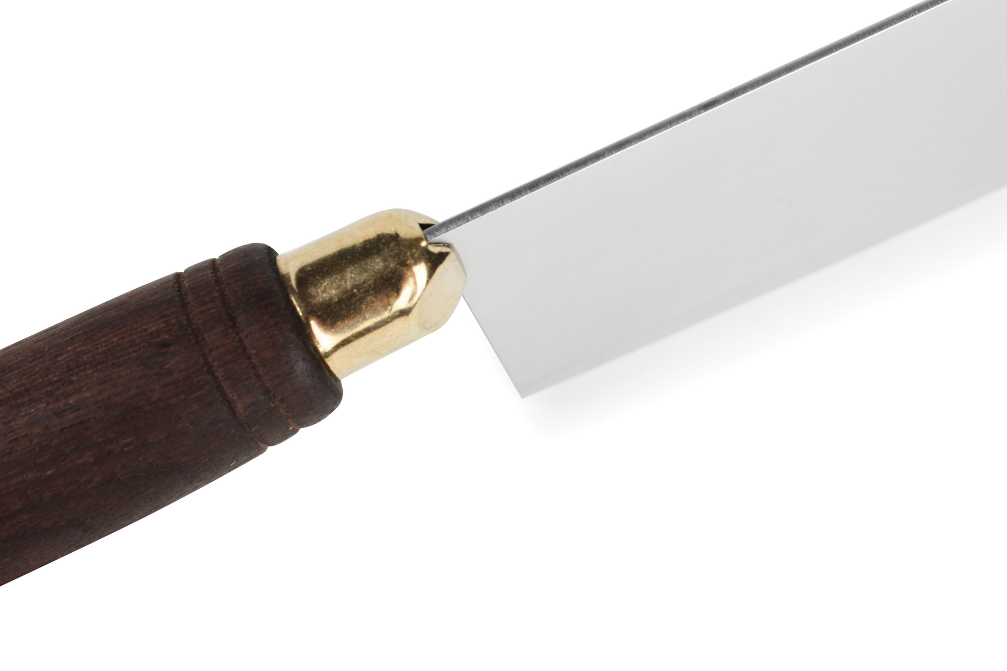 Lamson Chinese Vegetable Cleaver With Walnut Handle 8