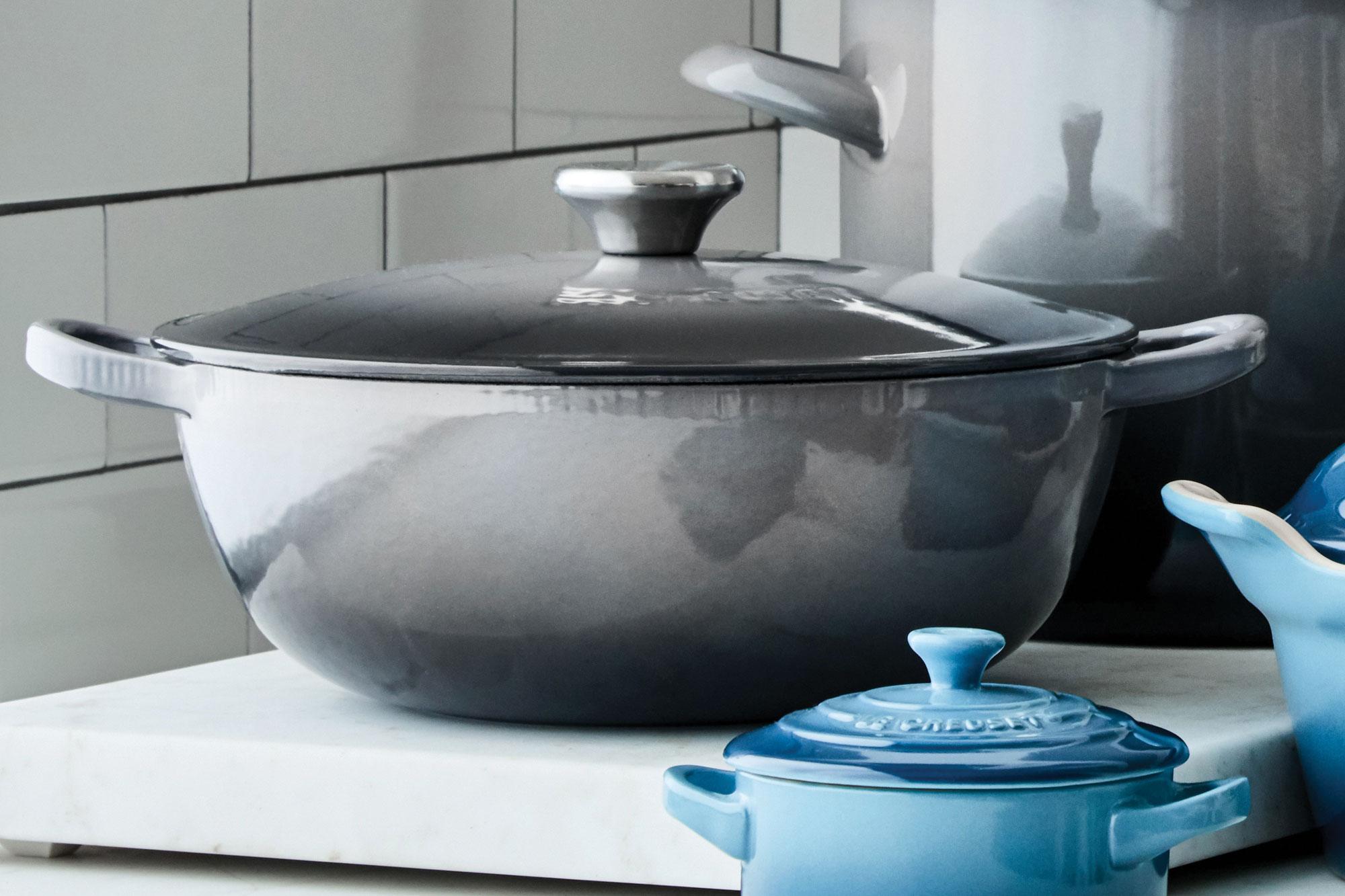 Le Creuset Cast Iron 3 5 Quart Chef S Oven Marine Dutch